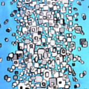 Cubic Separation Art Print