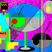 Cubic1 Art Print