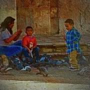 Cuenca Kids 875 Art Print
