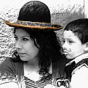 Cuenca Kids 912 Art Print