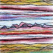 Cumbria Lines 2 Art Print