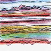 Cumbria Lines  Art Print