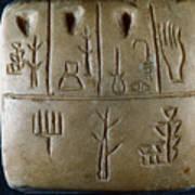 Cuneiform Art Print