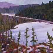 Cunnington Marsh Art Print