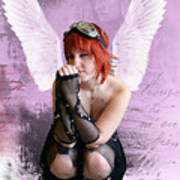 Cupid Art Print by Crispin  Delgado