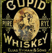 Cupid Whiskey Art Print