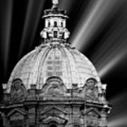 Cupola In Rome Art Print