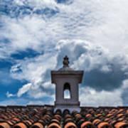 Cupula Antigua Guatemala 1 Art Print
