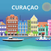 Curacao Horizontal Scene Art Print