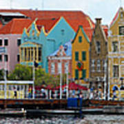 Curacao Willemstad Panorama Art Print
