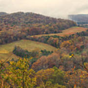 Current River Valley Near Acers Ferry Mo Dsc09419 Art Print