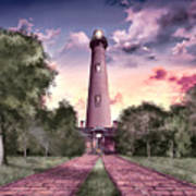 Currituck Beach Lighthouse 2 Art Print