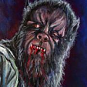 Curse Of The Werewolf Art Print