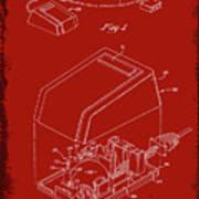 Cursor Control Device Patent Drawing 1n Art Print
