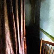 Curtains Closed Art Print