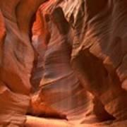 Curves Under The Desert Floor Art Print