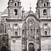 Cusco Cathedral Art Print by Darcy Michaelchuk
