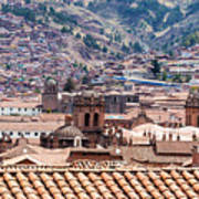 Cusco Cityscape Art Print