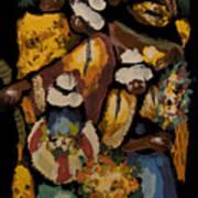 Cusco Market Art Print