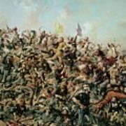 Custer's Last Stand Art Print by Edgar Samuel Paxson