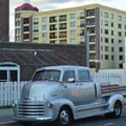 Custom Chevy Asbury Park Nj Art Print
