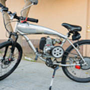 Custom Made Motor Bike Art Print