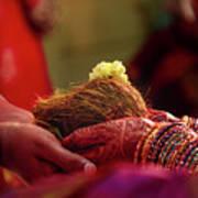 Customs Of The Kannada Wedding Art Print
