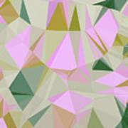 Cute Polygonal Art Print
