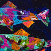 Cutthroats Print by Tracy Miller