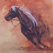 Cutting Horse I Art Print