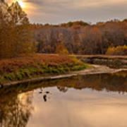 Cuyahoga Valley Autumn Sunset Art Print