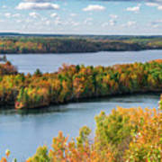Cuyuna Country State Recreation Area - Autumn #1 Art Print