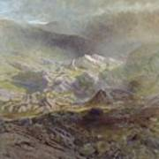 Cwm Trefaen Art Print