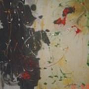 Cx 006 Chicken Blood Jasper Art Print