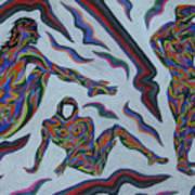 Cyber Gestes  Art Print