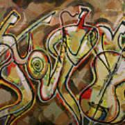 Cyber Jazz Art Print