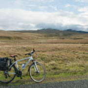 Cycle Across The Beacons Cycle Route. Art Print