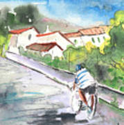 Cycling In Italy 01 Art Print