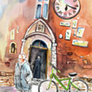Cycling In Italy 03 Art Print