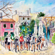 Cycling In Majorca 05 Art Print