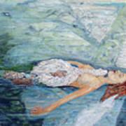 Cygnets Penn And Mermaid Art Print