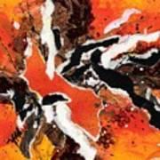 Cyhm Orange Art Print