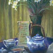 Cyndis Tea Time Art Print