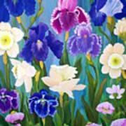 Cynthia's Garden Art Print