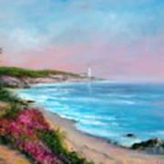 Cypress Bay Art Print