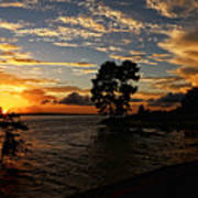 Cypress Bend Resort Sunset Art Print