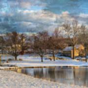Cyrus Mccormick Farm Print by Kathy Jennings