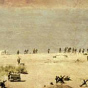 D-day Art Print