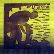 D U Rounds Project, Print 11 Art Print