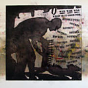 D U Rounds Project, Print 19 Art Print